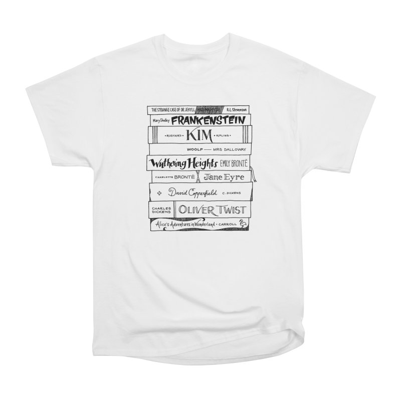 English Classics Bookstee Men's Classic T-Shirt by Bookstee