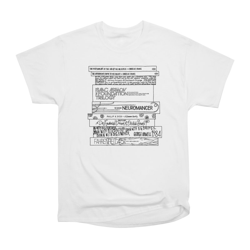 Sci-fi / Dystopias Bookstee Women's Classic Unisex T-Shirt by Bookstee