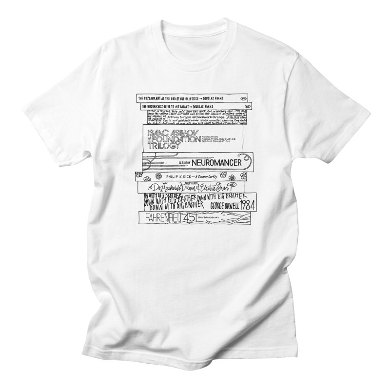 Sci-fi / Dystopias Bookstee Men's T-Shirt by Bookstee