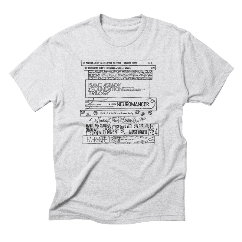 Sci-fi / Dystopias Bookstee Men's Triblend T-shirt by Bookstee