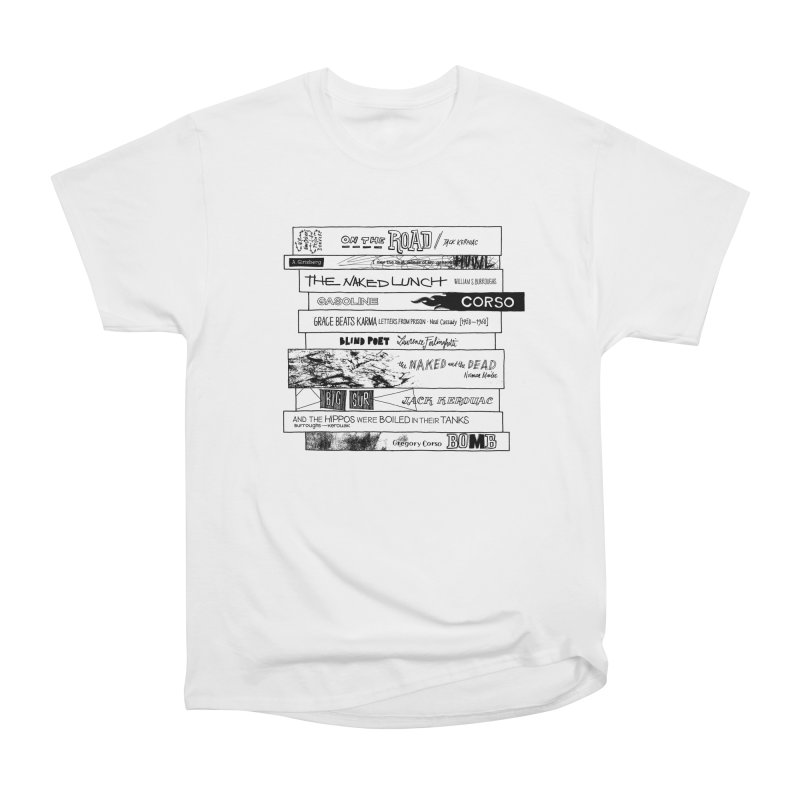 Beat Bookstee Men's Classic T-Shirt by Bookstee