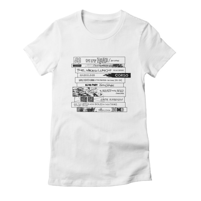 Beat Bookstee Women's Fitted T-Shirt by Bookstee