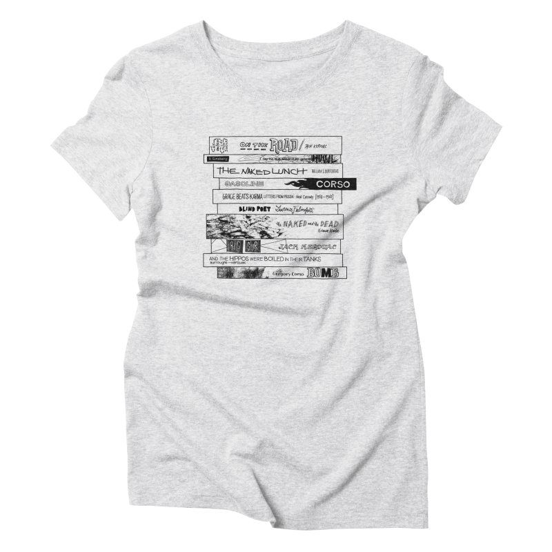 Beat Bookstee Women's Triblend T-shirt by Bookstee