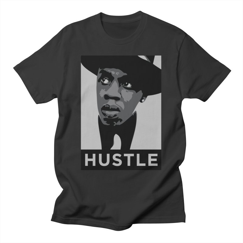 Hustle Men's T-Shirt by Boom Bap Beatnik Shop