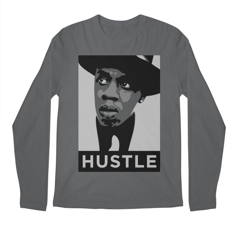Hustle Men's Longsleeve T-Shirt by Boom Bap Beatnik Shop