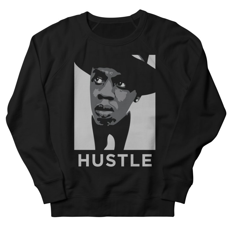 Hustle Men's Sweatshirt by Boom Bap Beatnik Shop