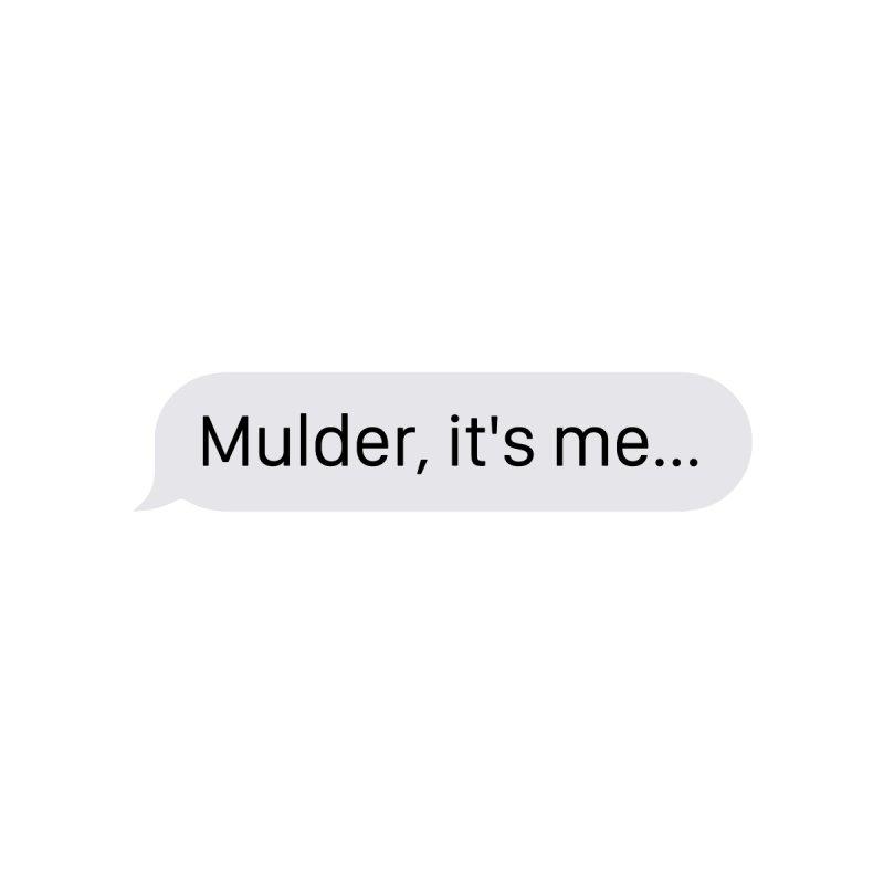 """""""Mulder, it's me..."""" Women's Tank by Boom Bap Beatnik Shop"""