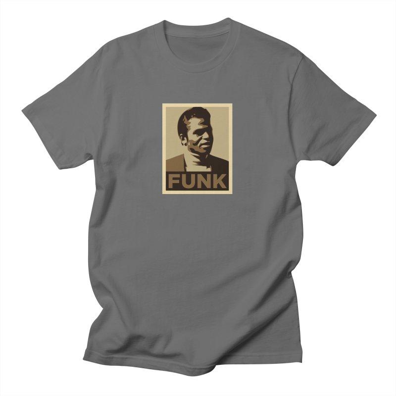 James Brown: FUNK Men's T-Shirt by Boom Bap Beatnik Shop