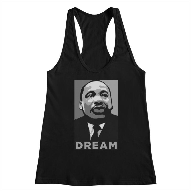 MLK: DREAM Women's Tank by Boom Bap Beatnik Shop