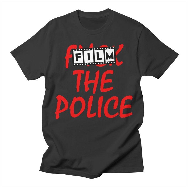 Film the Police Men's T-Shirt by Boom Bap Beatnik Shop