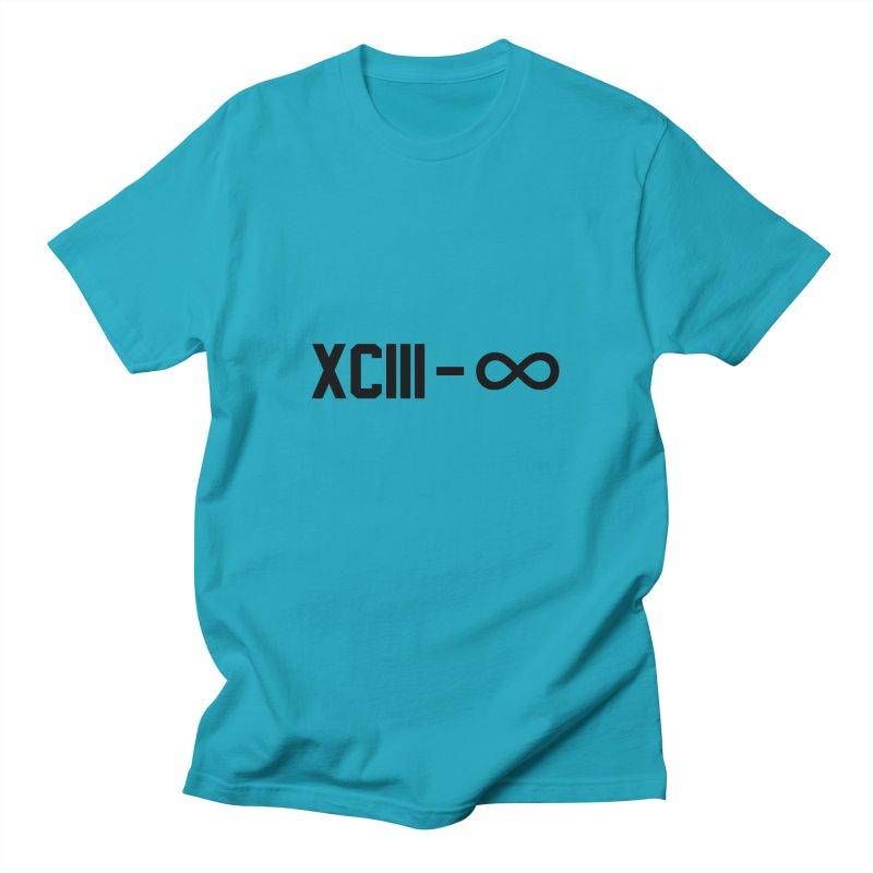 XCIII – ∞ Men's T-Shirt by Boom Bap Beatnik Shop