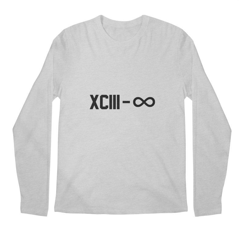 XCIII – ∞ Men's Longsleeve T-Shirt by Boom Bap Beatnik Shop