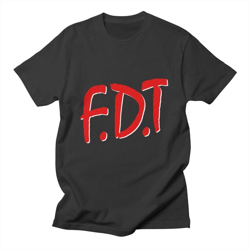 FDT Men's T-Shirt by Boom Bap Beatnik Shop