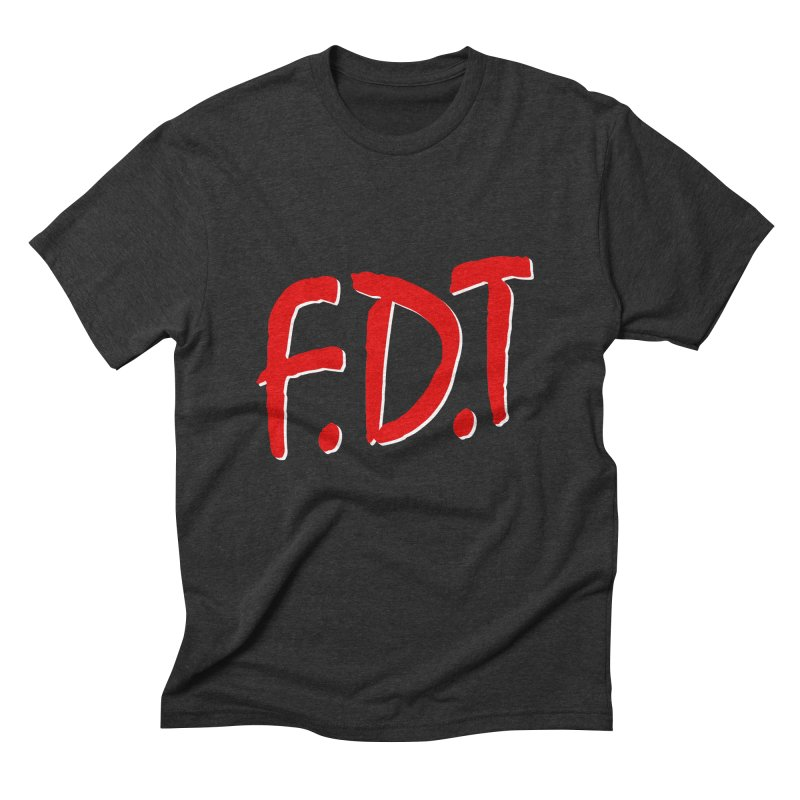 FDT Men's Triblend T-shirt by Boom Bap Beatnik Shop