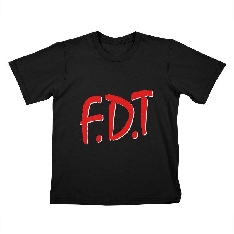 FDT Kids T-Shirt by Boom Bap Beatnik Shop