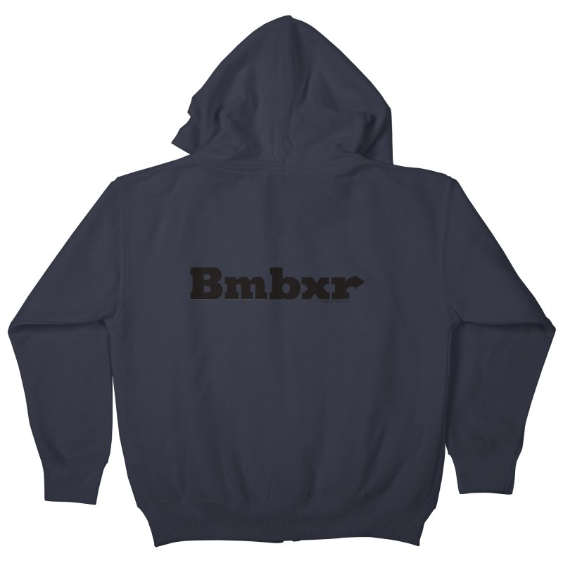 Boomboxr Logo'd Kids Zip-Up Hoody by boomboxr's Artist Shop