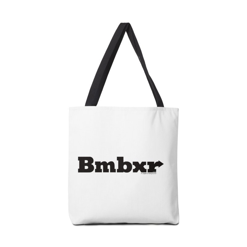 Boomboxr Logo'd Accessories Bag by boomboxr's Artist Shop