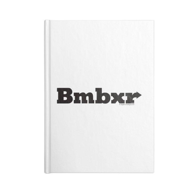 Boomboxr Logo'd Accessories Notebook by boomboxr's Artist Shop