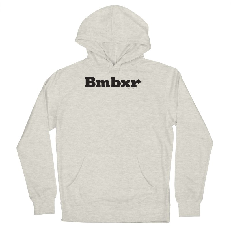 Boomboxr Logo'd Women's French Terry Pullover Hoody by boomboxr's Artist Shop