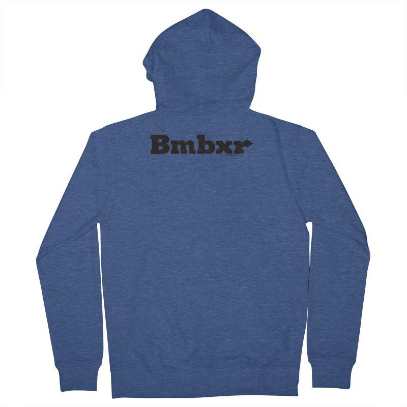 Boomboxr Logo'd Men's Zip-Up Hoody by boomboxr's Artist Shop