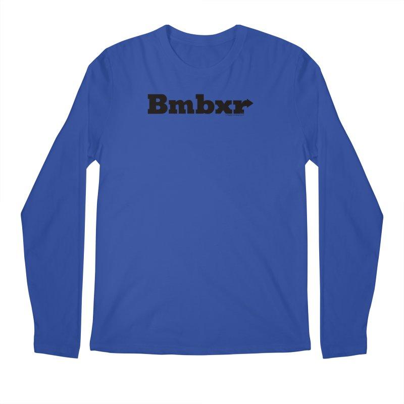 Boomboxr Logo'd Men's Longsleeve T-Shirt by boomboxr's Artist Shop