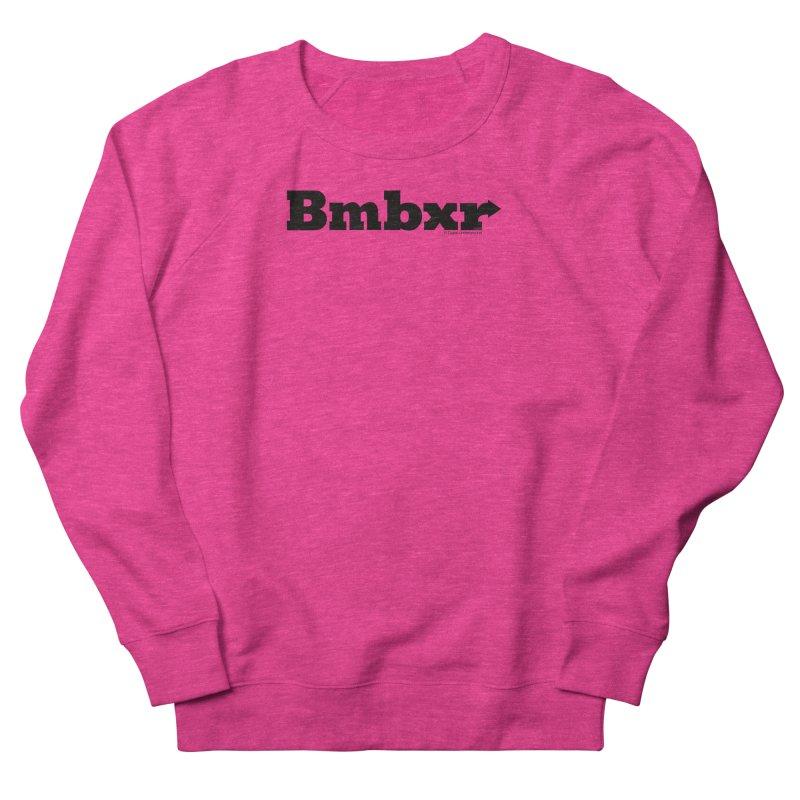 Boomboxr Logo'd Men's French Terry Sweatshirt by boomboxr's Artist Shop
