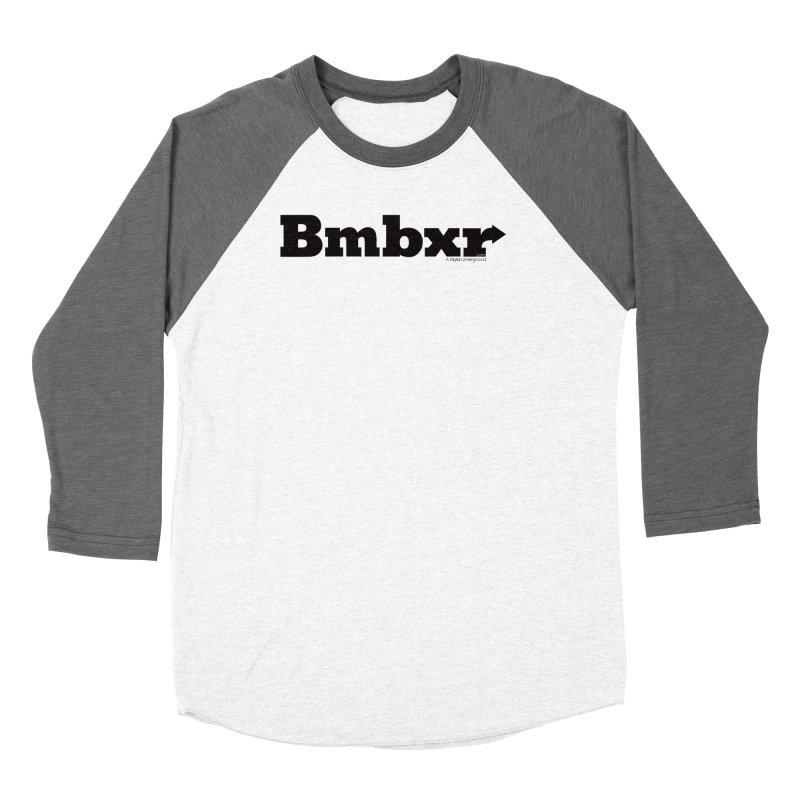 Boomboxr Logo'd Women's Baseball Triblend T-Shirt by boomboxr's Artist Shop