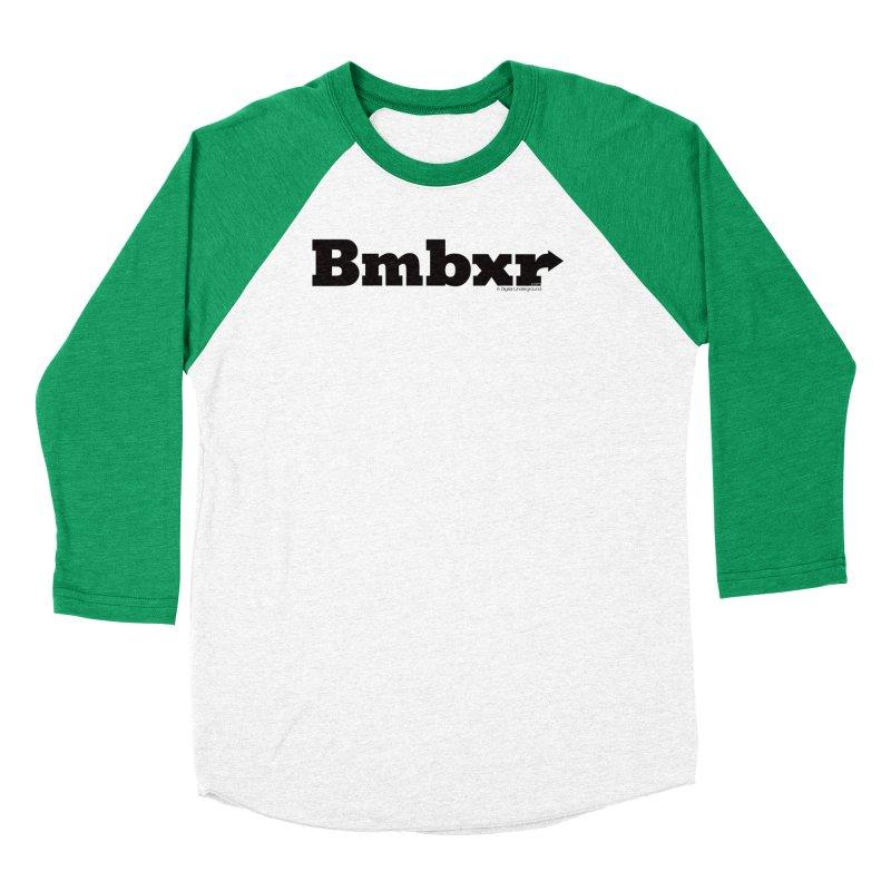 Boomboxr Logo'd Men's Baseball Triblend T-Shirt by boomboxr's Artist Shop