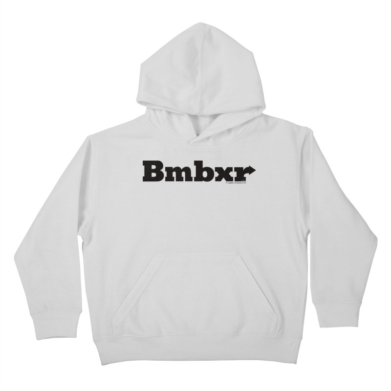 Boomboxr Logo'd Kids Pullover Hoody by boomboxr's Artist Shop
