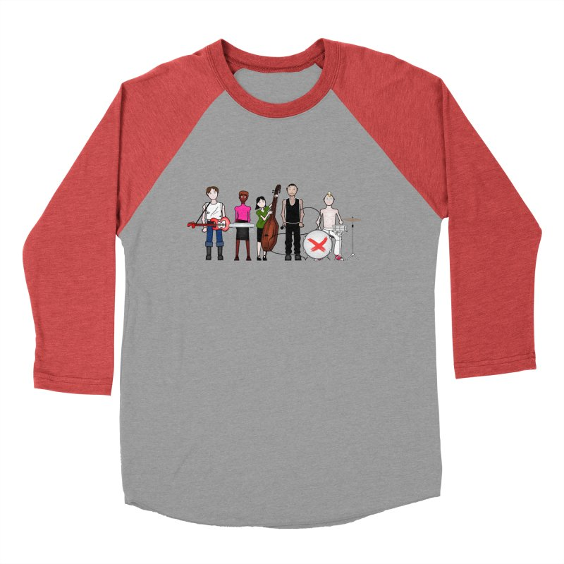 the Boomboxr Kids Women's Baseball Triblend T-Shirt by boomboxr's Artist Shop