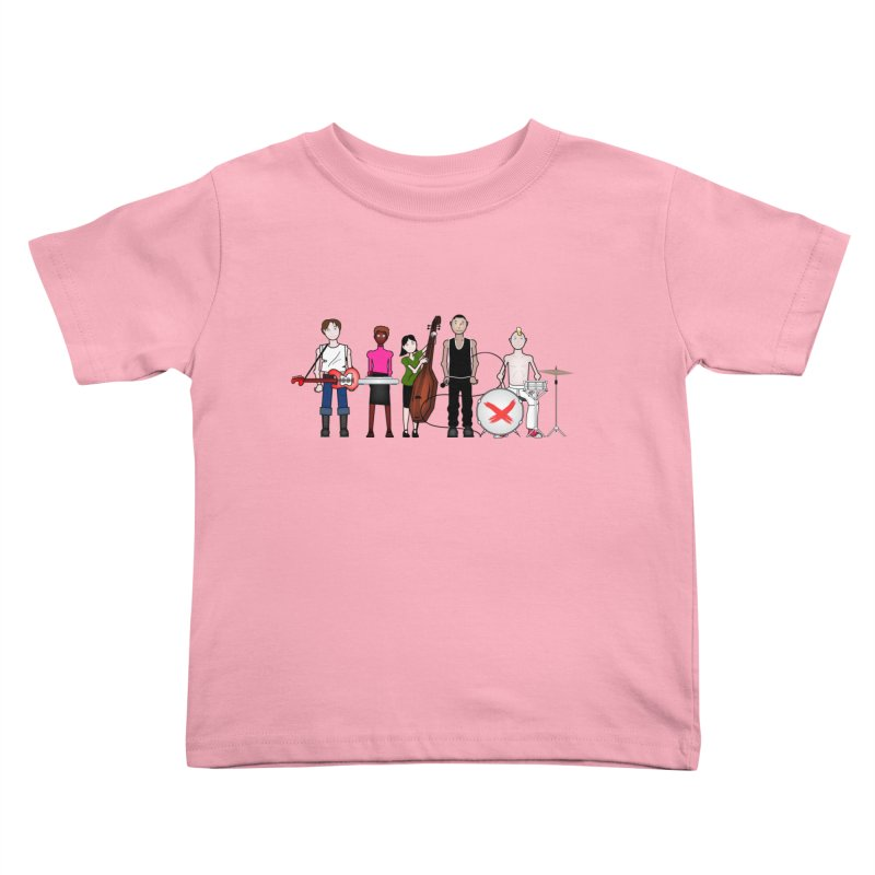 the Boomboxr Kids Kids Toddler T-Shirt by boomboxr's Artist Shop