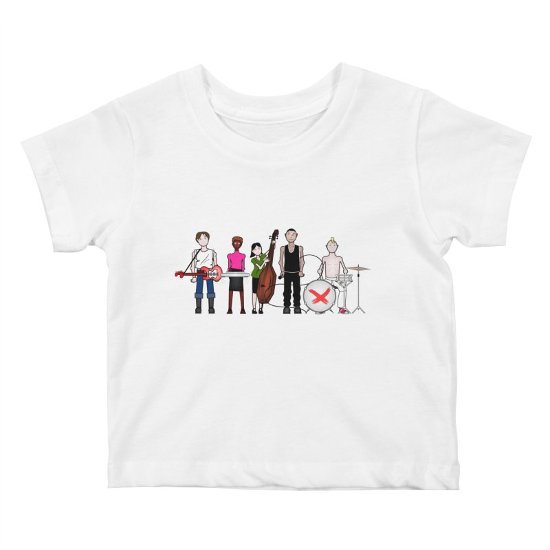 the Boomboxr Kids Kids Baby T-Shirt by boomboxr's Artist Shop
