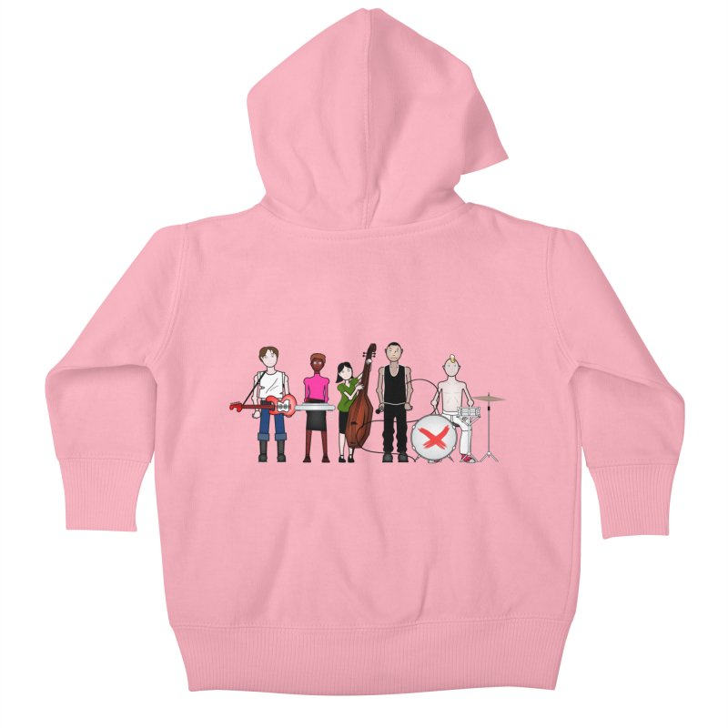 the Boomboxr Kids Kids Baby Zip-Up Hoody by boomboxr's Artist Shop