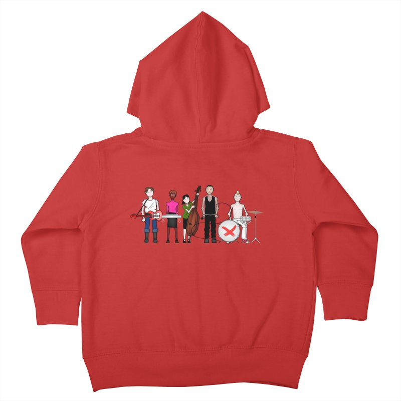 the Boomboxr Kids Kids Toddler Zip-Up Hoody by boomboxr's Artist Shop