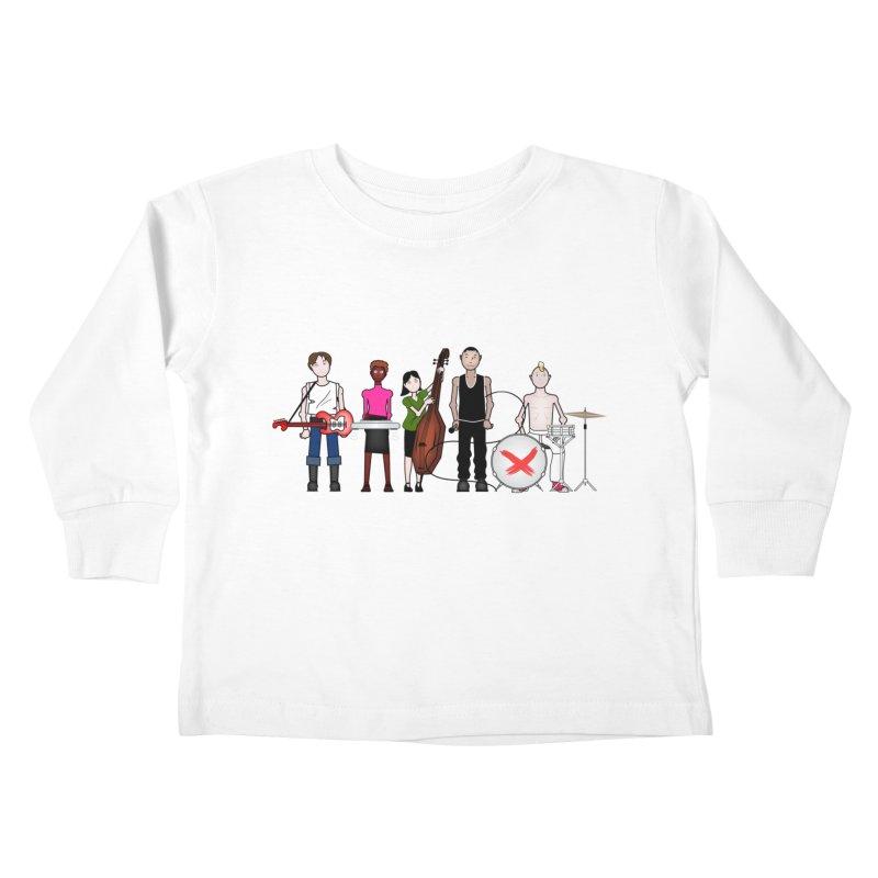 the Boomboxr Kids Kids Toddler Longsleeve T-Shirt by boomboxr's Artist Shop