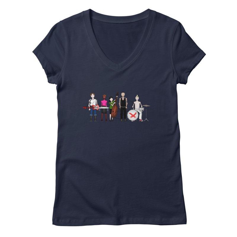 the Boomboxr Kids Women's V-Neck by boomboxr's Artist Shop