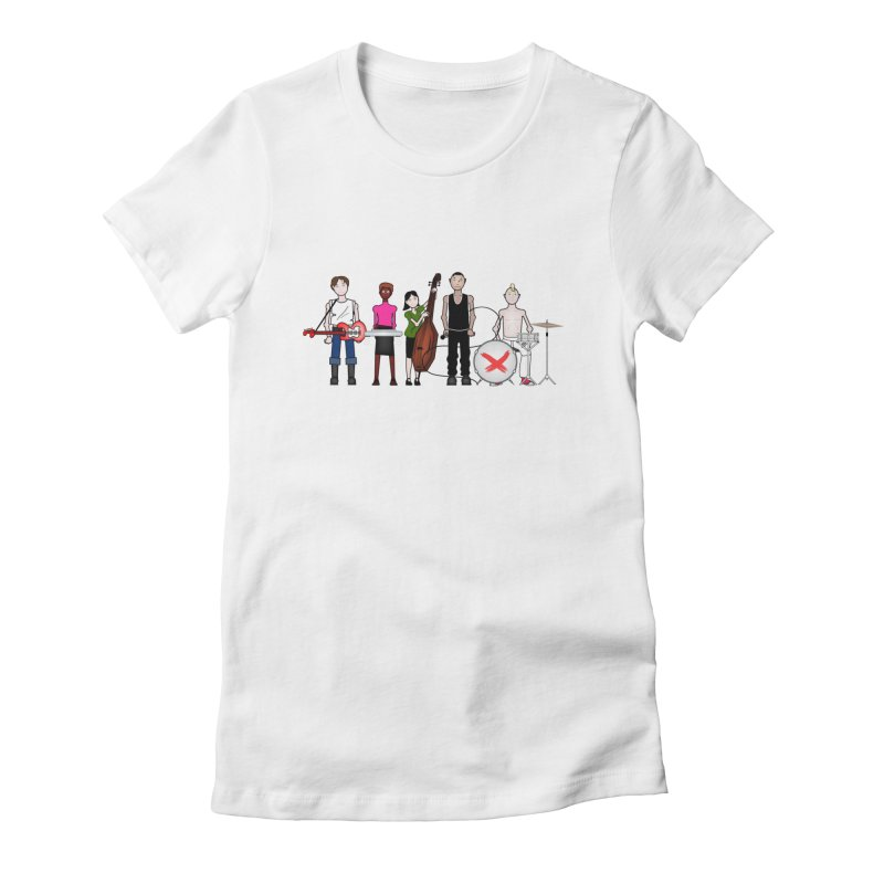 the Boomboxr Kids Women's Fitted T-Shirt by boomboxr's Artist Shop
