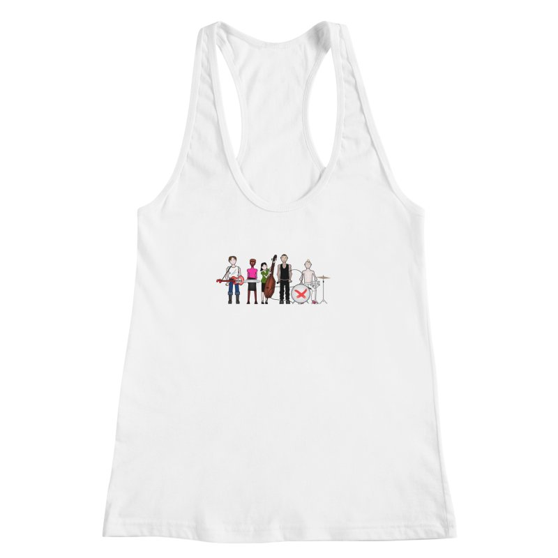 the Boomboxr Kids Women's Racerback Tank by boomboxr's Artist Shop