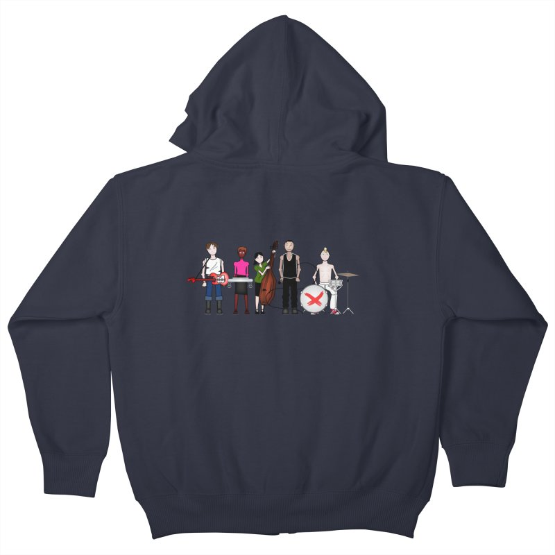 the Boomboxr Kids Kids Zip-Up Hoody by boomboxr's Artist Shop