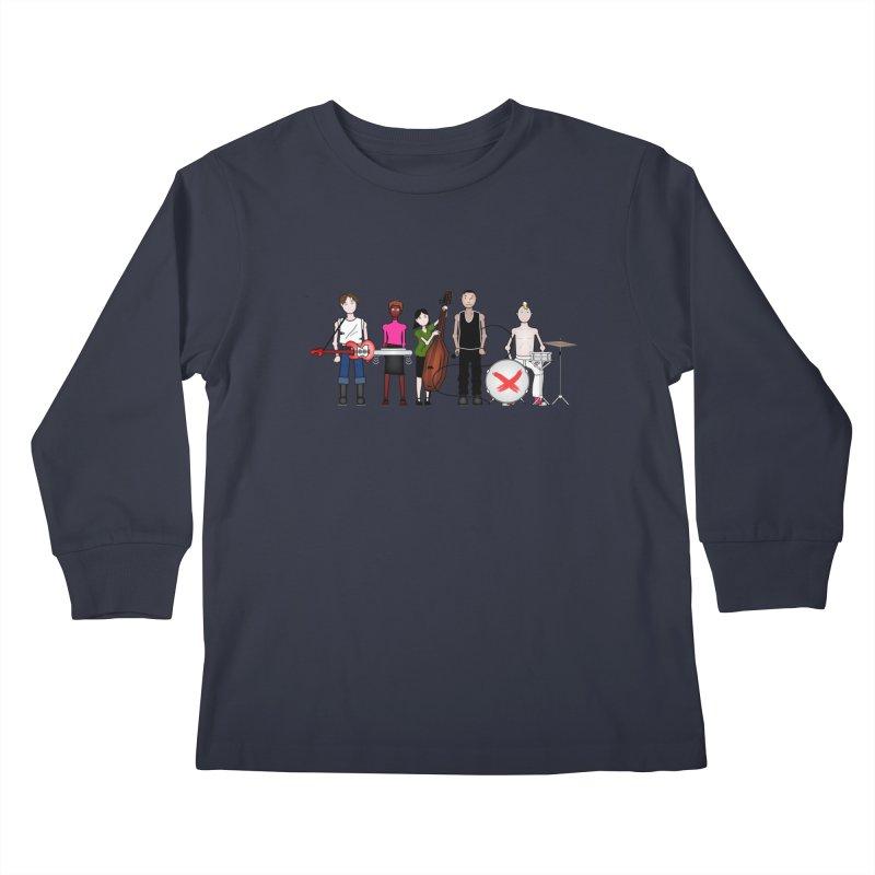 the Boomboxr Kids Kids Longsleeve T-Shirt by boomboxr's Artist Shop
