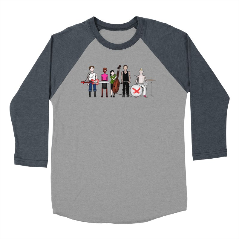 Boomboxr Kids Women's Baseball Triblend T-Shirt by boomboxr's Artist Shop