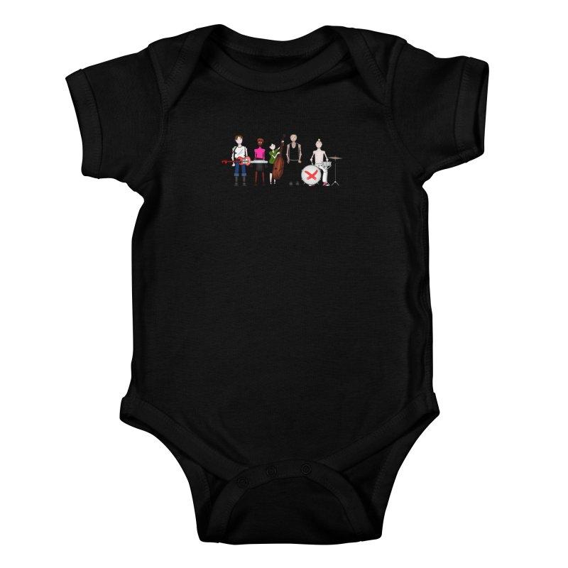 Boomboxr Kids Kids Baby Bodysuit by boomboxr's Artist Shop