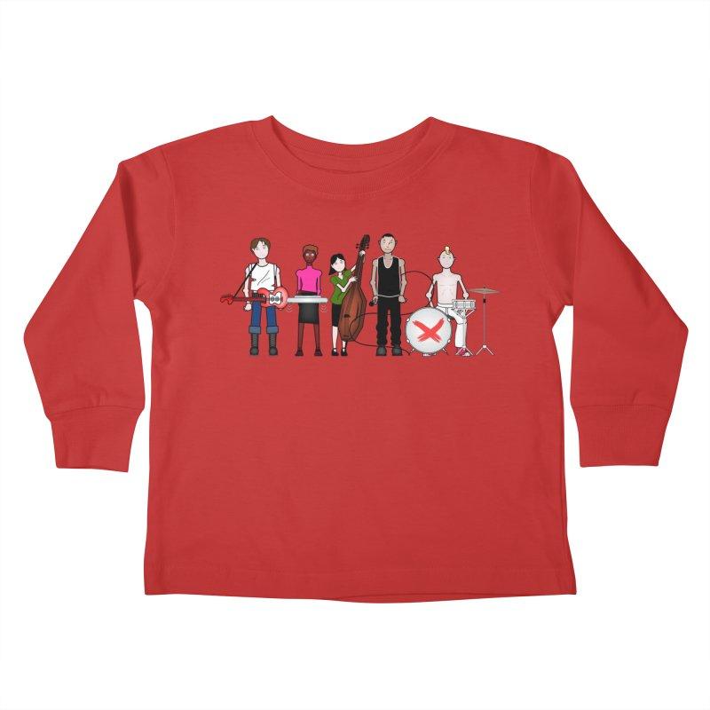 Boomboxr Kids Kids Toddler Longsleeve T-Shirt by boomboxr's Artist Shop