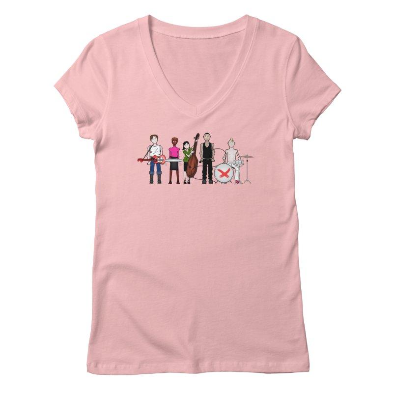 Boomboxr Kids Women's V-Neck by boomboxr's Artist Shop