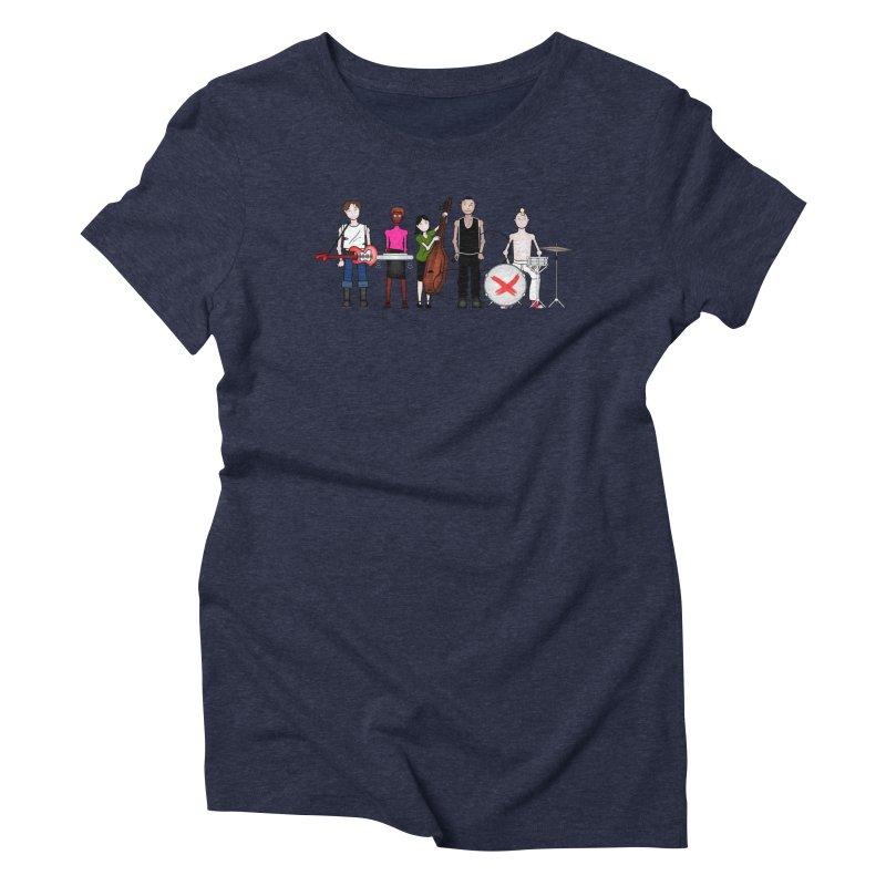 Boomboxr Kids Women's Triblend T-Shirt by boomboxr's Artist Shop