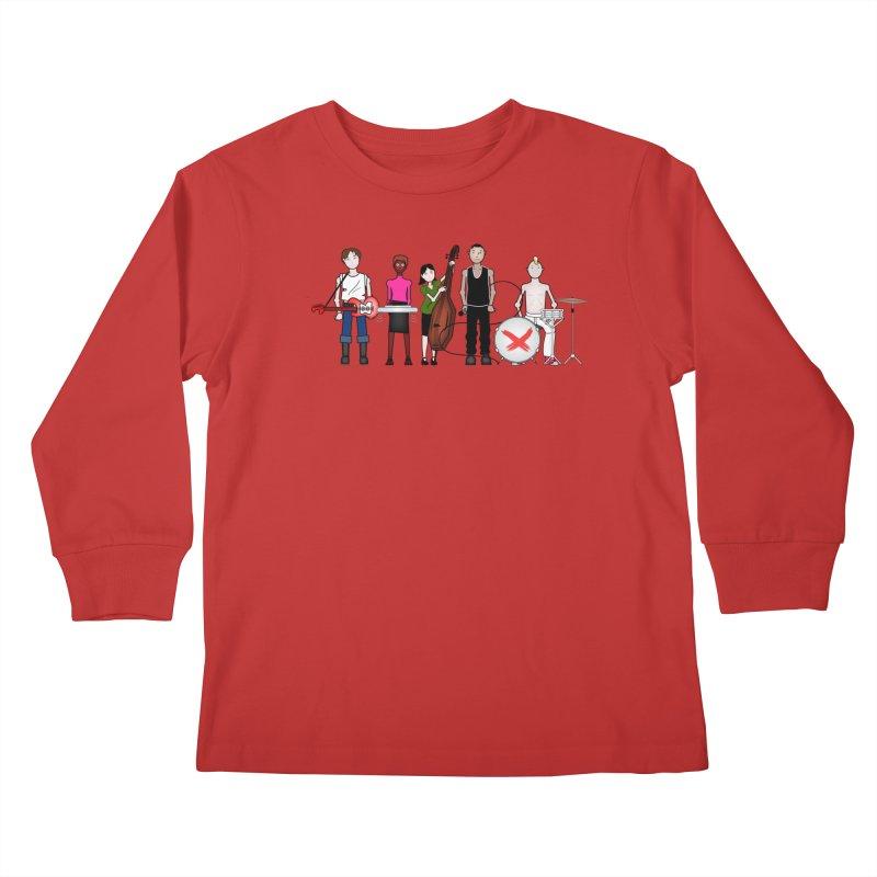 Boomboxr Kids Kids Longsleeve T-Shirt by boomboxr's Artist Shop