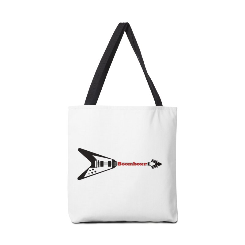 Boomboxr Flying V logo Accessories Bag by boomboxr's Artist Shop