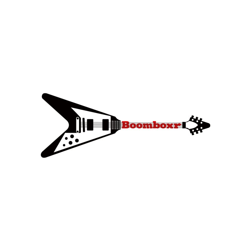 Boomboxr Flying V logo None  by boomboxr's Artist Shop