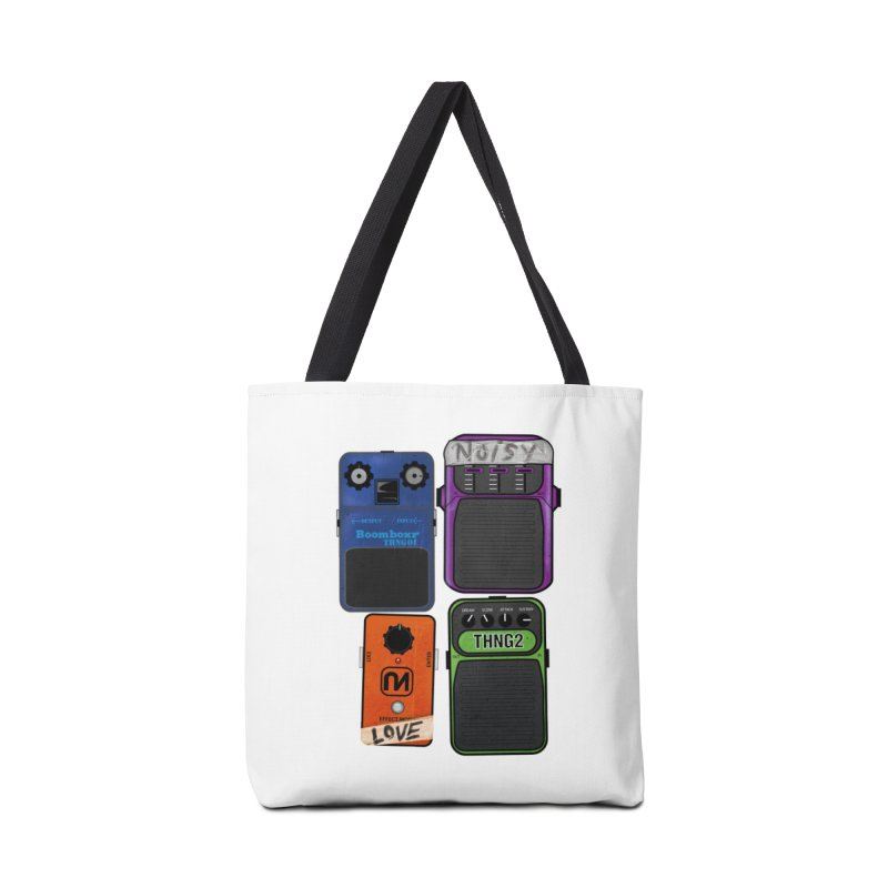Noisy Love Accessories Bag by boomboxr's Artist Shop