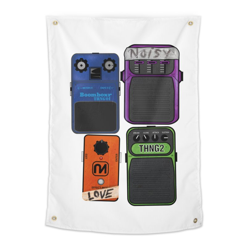Noisy Love Home Tapestry by boomboxr's Artist Shop